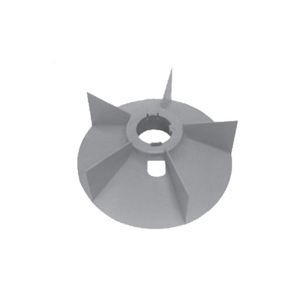 No. 1910  Plastic Fan Suitable For Siemens 180 New (5 Blades) (30 HP)