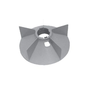 No. 1911  Plastic Fan Suitable For Siemens 200 New (5 Blades) (30 HP)